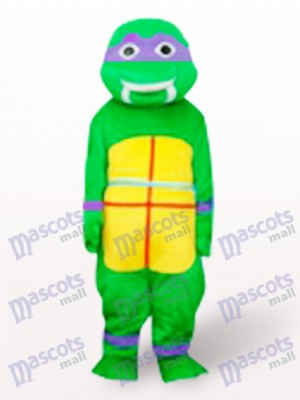 Purple Teenage Mutant Hero Turtles Adult Mascot Costume