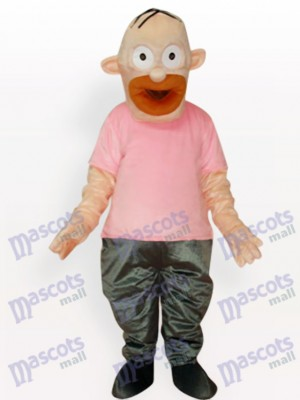 Homer Simpson Father Anime Adult Mascot Costume