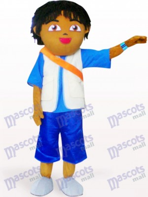 Boyfriend Of Dora Anime Adult Mascot Costume