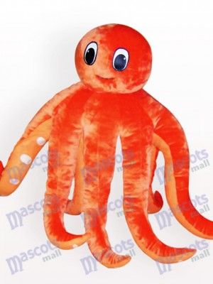 Octopus Cartoon Adult Mascot Costume