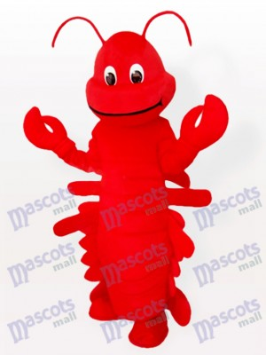 Red Cartoon Lobster Ocean Adult Mascot Funny Costume