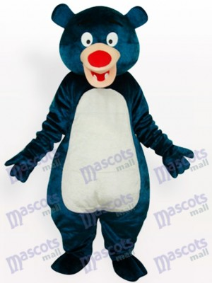 Blue Bear Adult Animal Mascot Costume