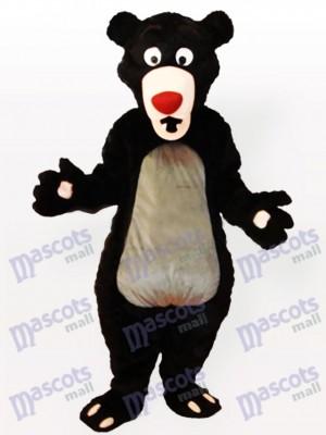 Obese Cartoon Moon Bear Anime Mascot Costume