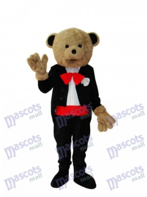 Wedding Bear Mascot Adult Costume Animal