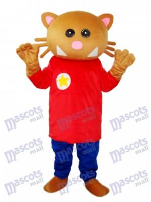 Star Bear Mascot Adult Costume Animal