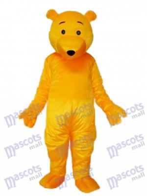 Yellow Bear Mascot Adult Costume Animal