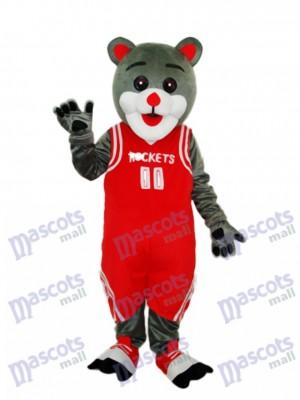 Houston Rockets Bear Mascot Adult Costume Animal
