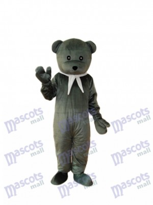 Gray Cook Bear Mascot Adult Costume Animal