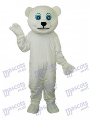 Little Polar Bear Mascot Adult Costume Animal