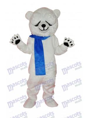 Cute Polar Bear Adult Mascot Costume Animal