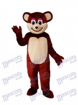 Brown Bear Mascot Adult Costume Animal