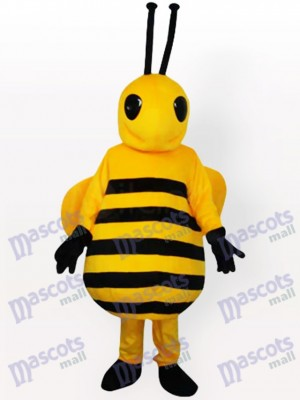 Little Yellow Bee Insect Adult Mascot Costume