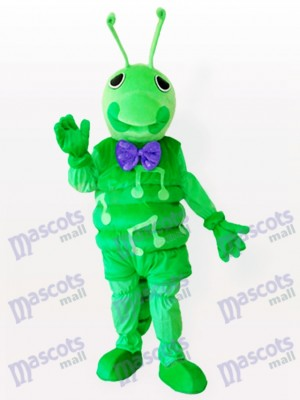 Green Caterpillar Insect Adult Mascot Costume