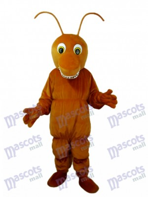 Brown Ant Mascot Adult Costume Insect