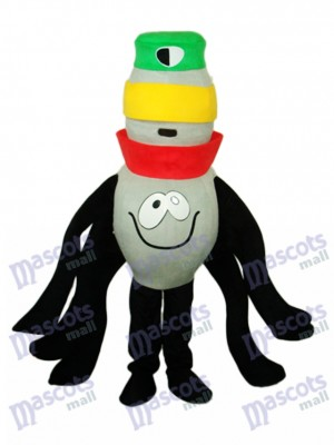 Eight-Foot Spider Mascot Adult Costume Insect