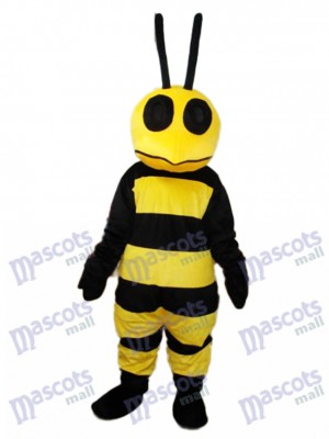 Strange Mouth Bee Mascot Adult Costume Insect