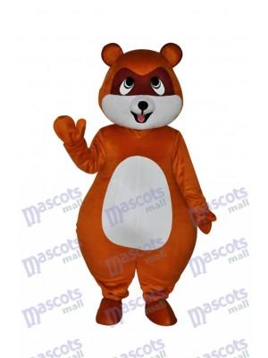 Yellow Brown Civet Cat Mascot Costume Animal