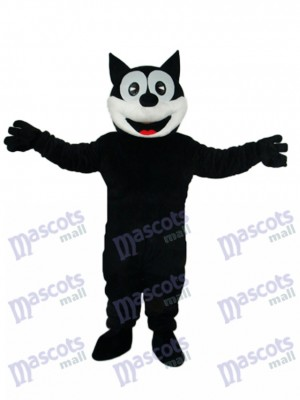 Happy Cat Mascot Adult Costume Animal