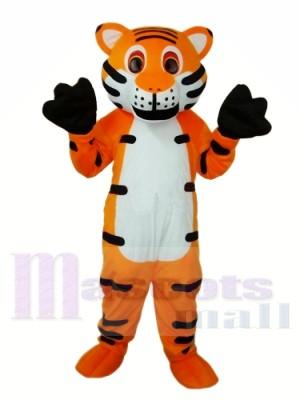 Orange Tiger Mascot Adult Costume Free Shipping