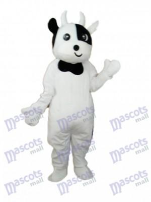 Odd Face Cow Mascot Adult Costume Animal