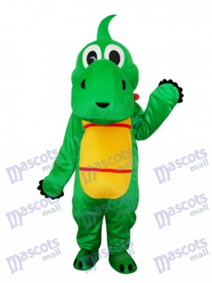 Yoshi Dinosaur Mascot Adult Costume Animal