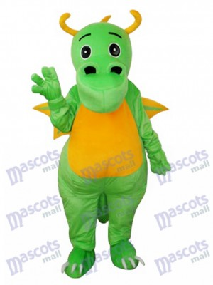 Big Nose Green Dinosaur Mascot Adult Costume Animal