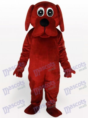 Brown Rooney Dog Animal Adult Mascot Funny Costume