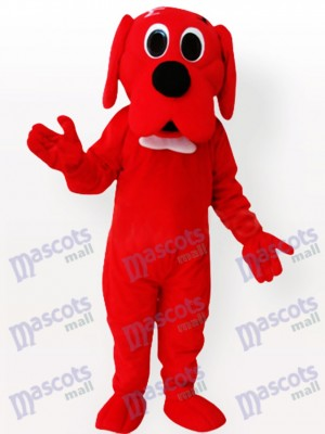 Red Dog Adult Mascot Costume