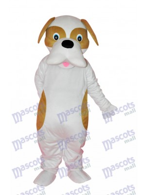 Brown and White Dog Adult Mascot Costume Animal