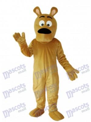 Grey Dog Mascot Adult Costume Animal