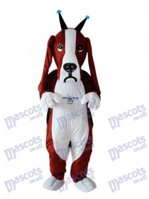 Revised Basset Dog Mascot Adult Costume Animal