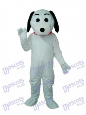Little White Dog Mascot Adult Costume Animal