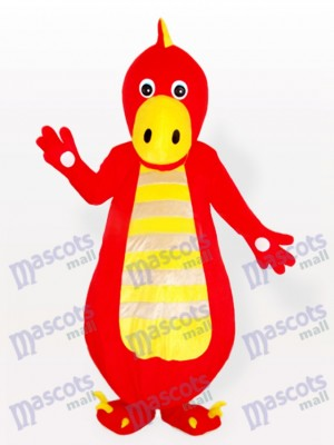 Red Dragon Adult Mascot Costume