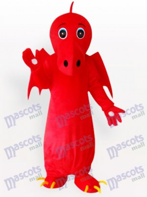 Red Chinese Dragon Adult Mascot Costume