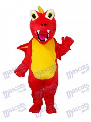 Red Thorn Dragon Mascot Adult Costume Animal