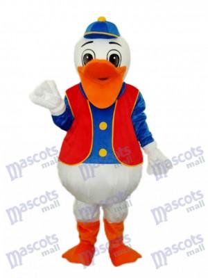 Hippie Duck Mascot Adult Costume Animal