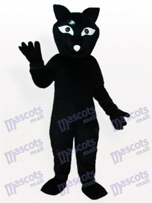 Black Fox Adult Mascot Costume