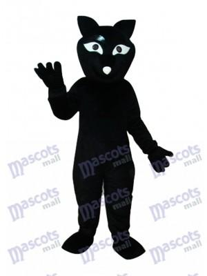 Black Fox Mascot Adult Costume Animal
