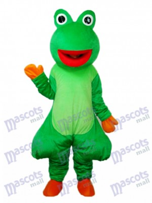 Red Mouth Odd Frog Mascot Adult Costume Animal