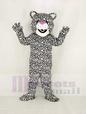 Realistic High Quality Energetic Jaguar Mascot Costume College