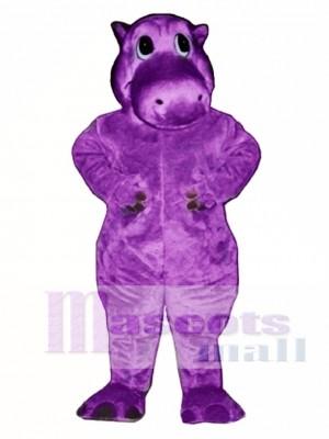 Hairy Potamus Hippo Mascot Costume
