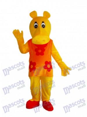 Old Hippopotamus Hippo Mascot Adult Costume Animal