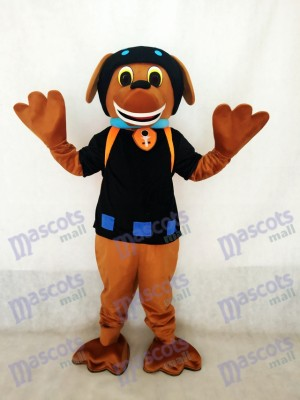 Chocolate and Black Labrador Pup Paw Patrol Zuma Dog Mascot Costume