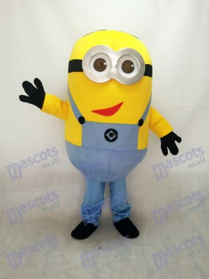 Despicable Me Minions with Red Mouth Mascot Costume