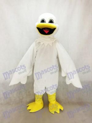White Harold Bird Mascot Costume