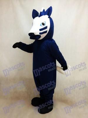 Trojan Horse in Blue Mascot Costume