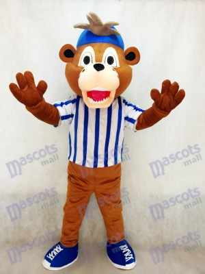 Major League Baseball's Chicago Cubs Clark The Cub Bear Mascot Costume