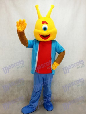 Alien Lilo Agent Pleakley Mascot Costume