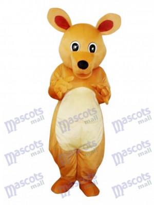 Big Eyes Kangaroo Adult Mascot Costume Animal