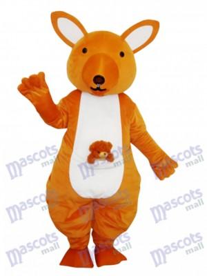 Yellow Kangaroo Mascot Adult Costume Animal